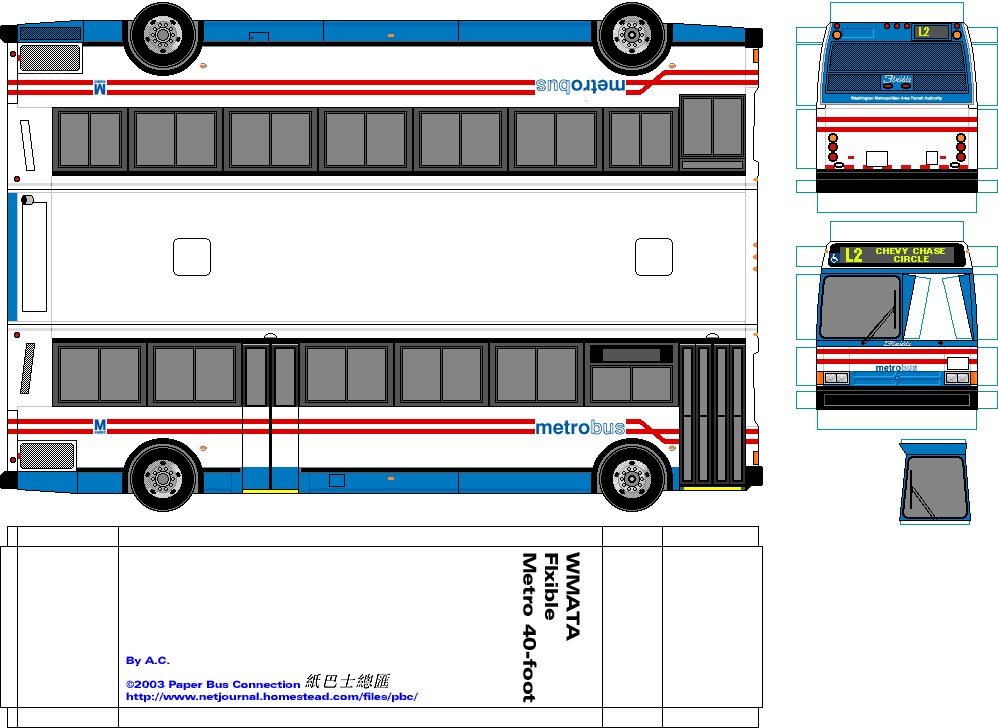 Paper Bus Connection 紙巴士總匯 187 United States 美國