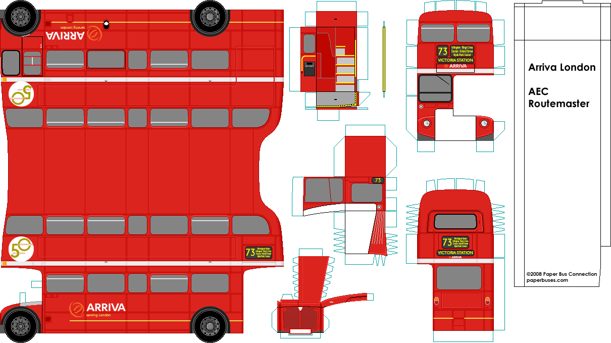 Classic Buses Website paper model buses and coaches