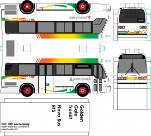 Golden Gate Transit Nova Bus RTS 30-foot